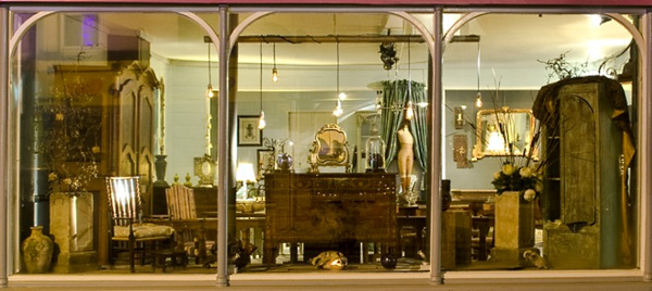 Our Sandgate Antiques Showroom