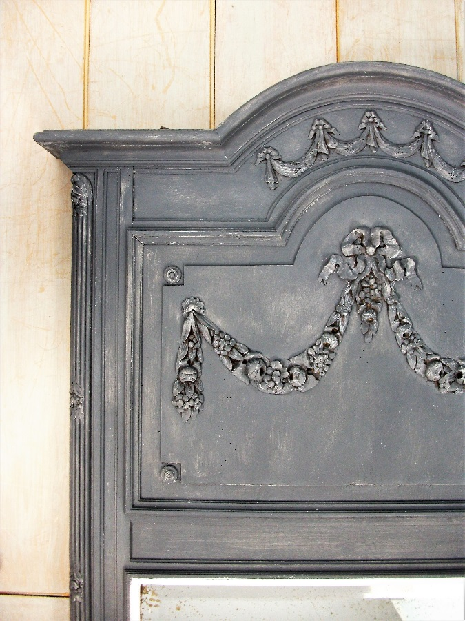 A Trumeau Over Mantle or Pier Wall Mirror