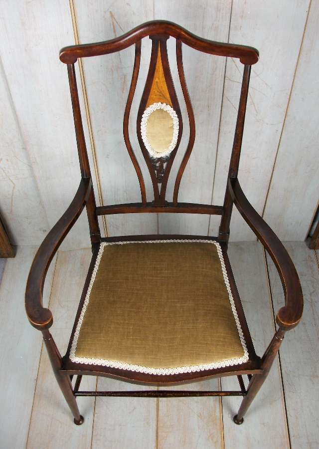 Arts and Crafts Bedroom Armchair