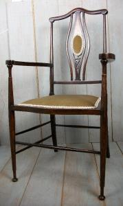Arts and Crafts Side Armchair