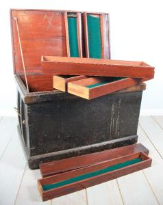 Steamer Trunk with fitted interior