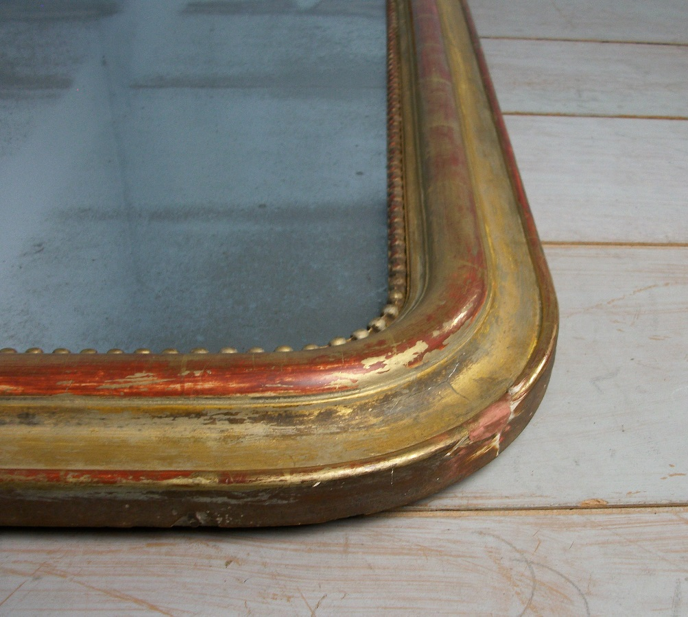 Gilt Louis Philippe Antique French Mirror