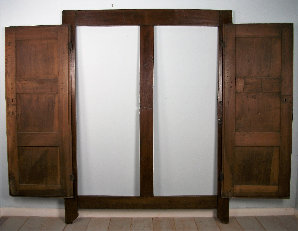 17th Century Italian Diamond Point Doors