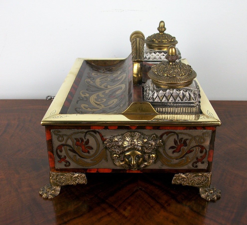 A Late Georgian-Early Regency Inkstand of the highest quality (12).JPG
