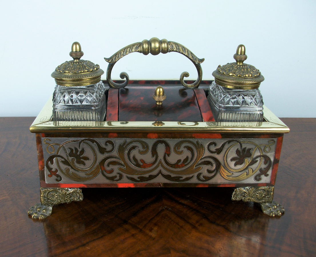 A Late Georgian-Early Regency Inkstand of the highest quality (13).JPG