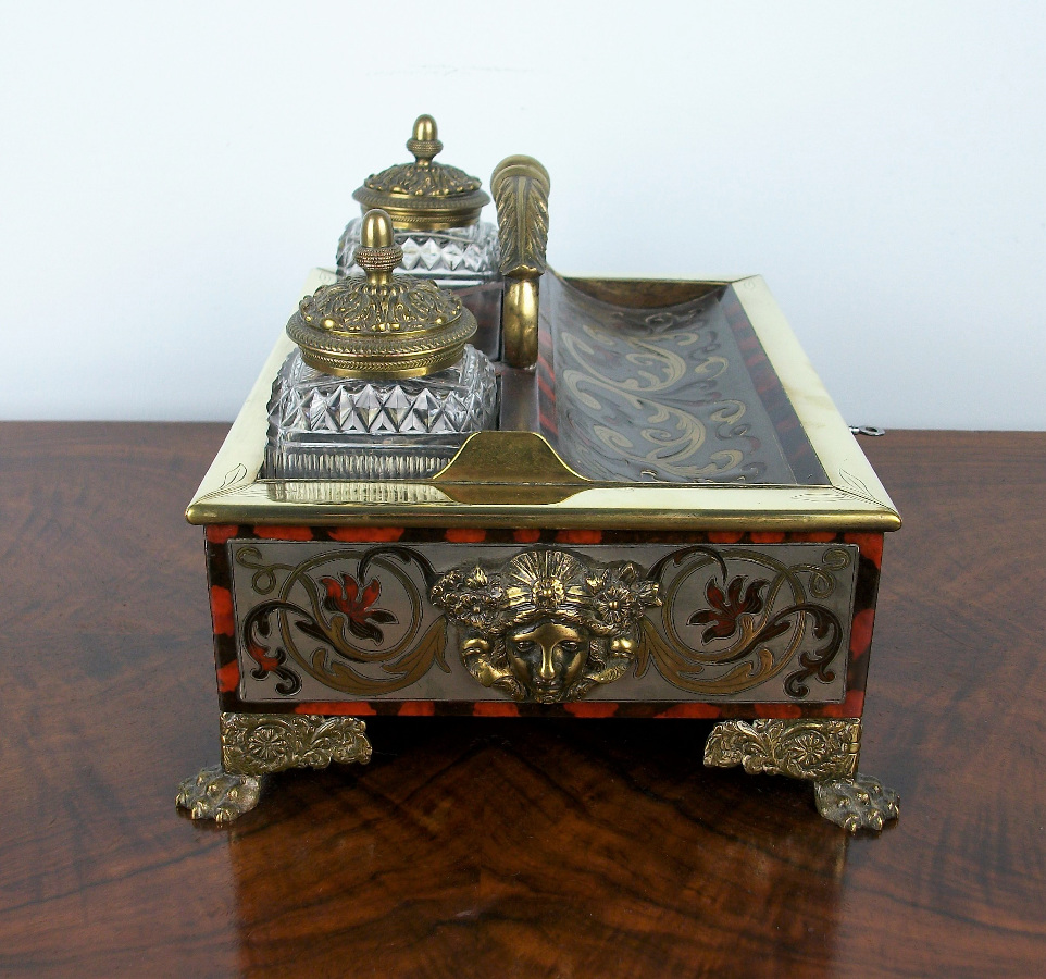 A Late Georgian-Early Regency Inkstand of the highest quality (14).JPG