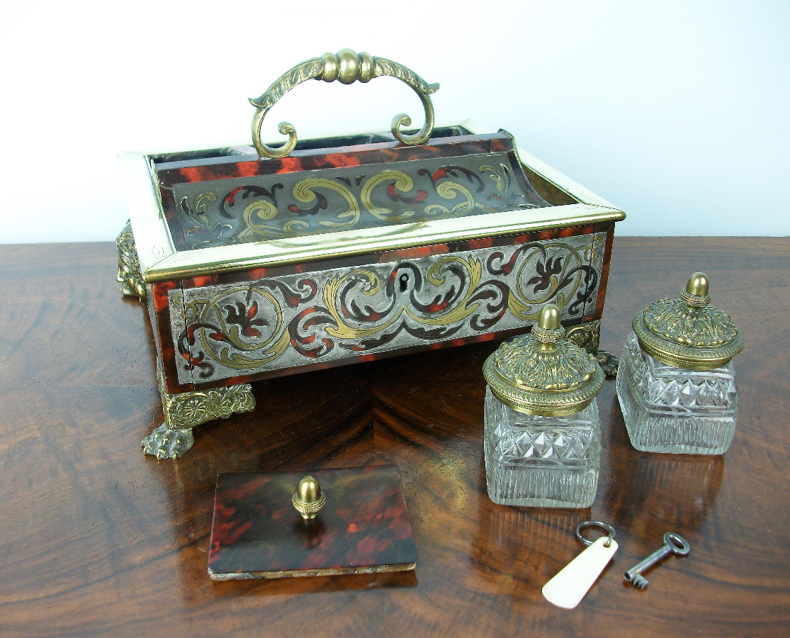 A Late Georgian-Early Regency Inkstand of the highest quality (4).JPG