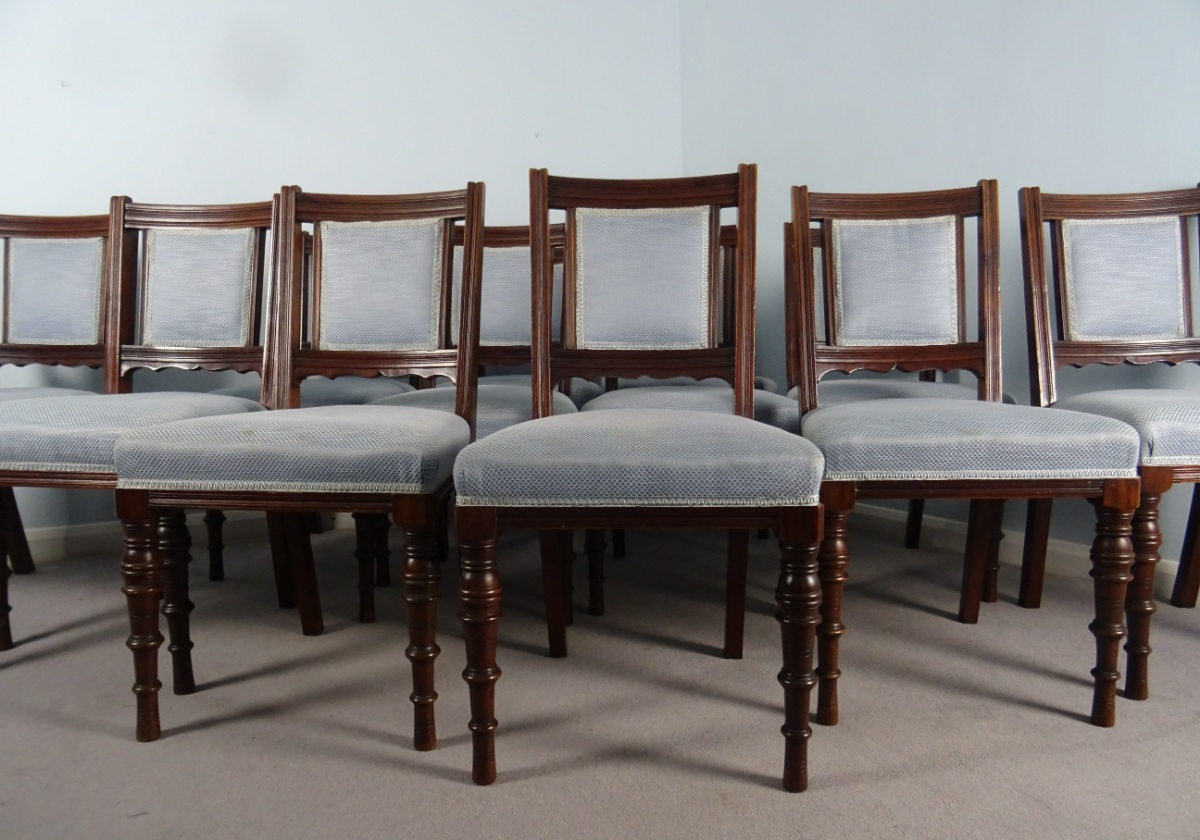 A Superb Set Of 12 Maple and Co. London Mahogany Dining Chairs (12).JPG