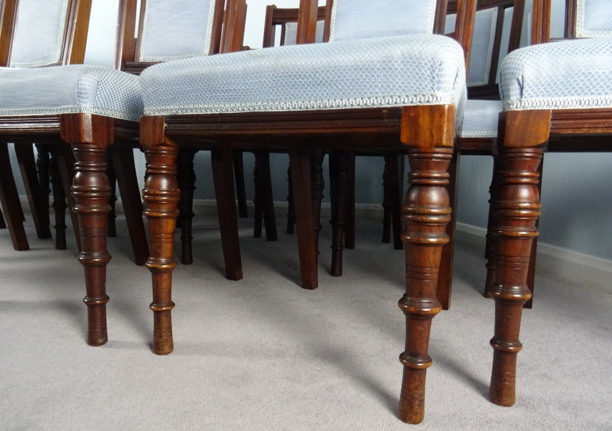 A Superb Set Of 12 Maple and Co. London Mahogany Dining Chairs (14).JPG
