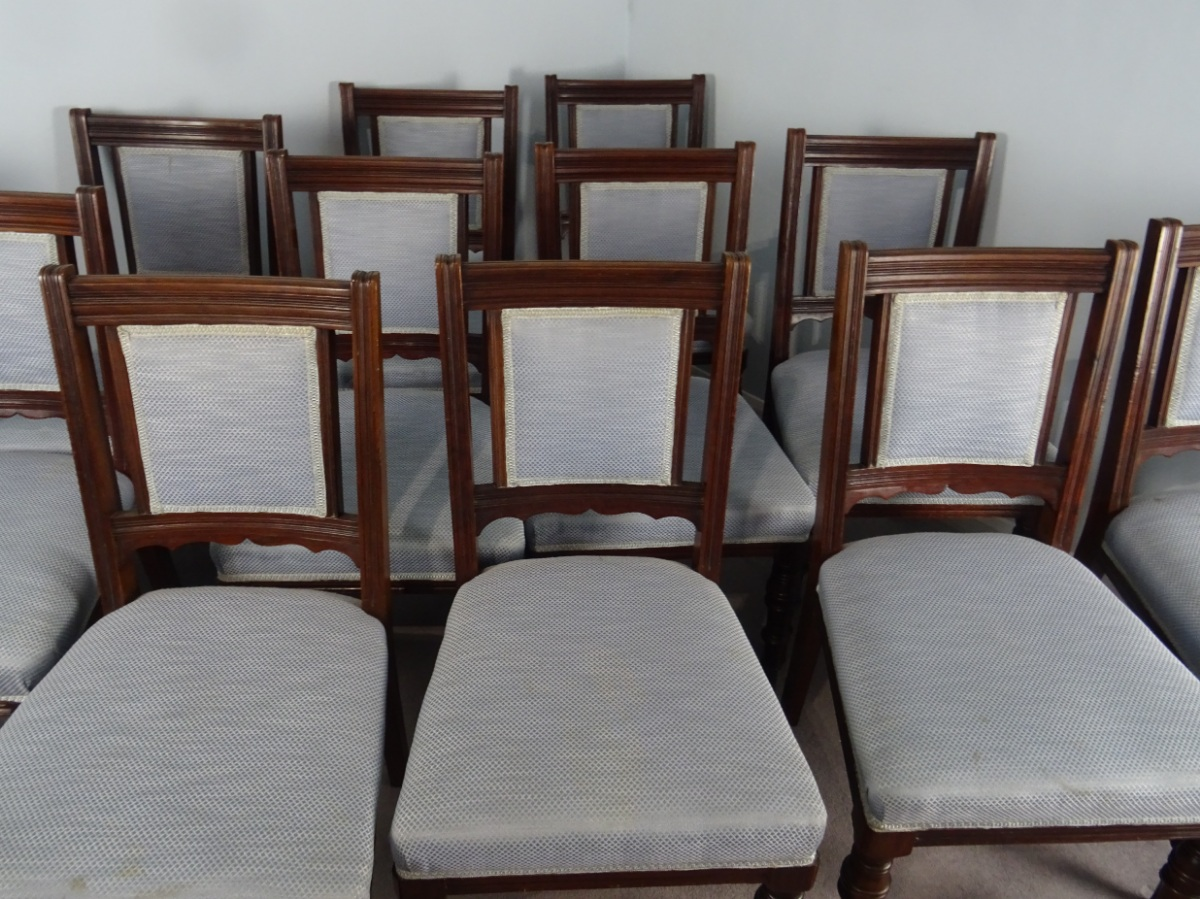 A Superb Set Of 12 Maple and Co. London Mahogany Dining Chairs (20).JPG
