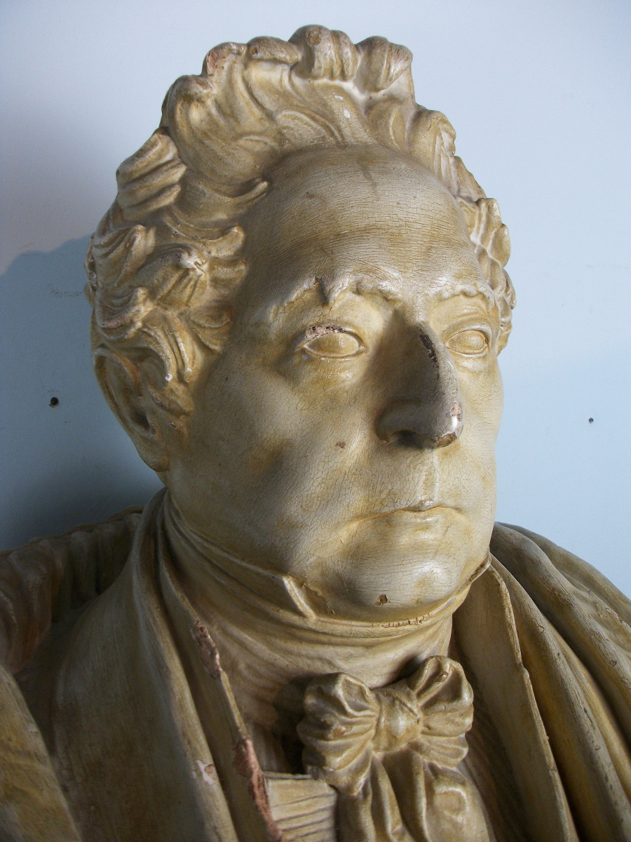 Antique Bust of a French General