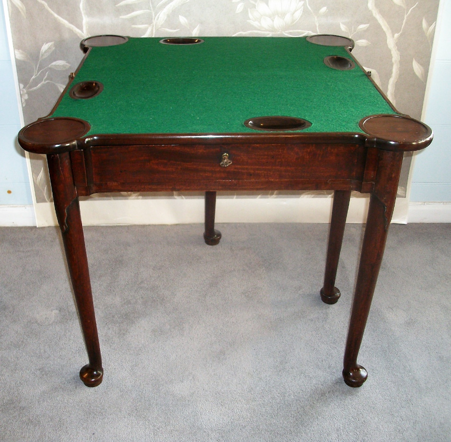 Antique English Card Table