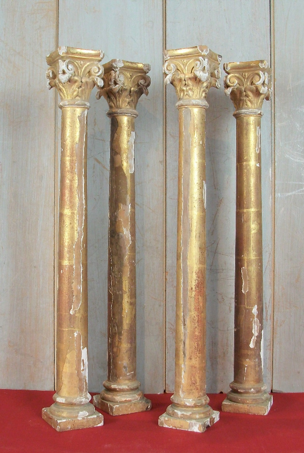 Corinthian Column Elements