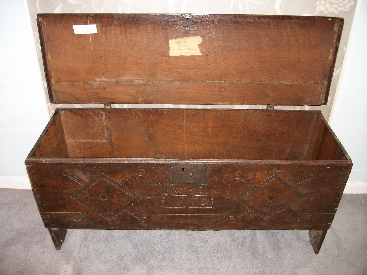 English XVII Century Sword or Rapier Chest