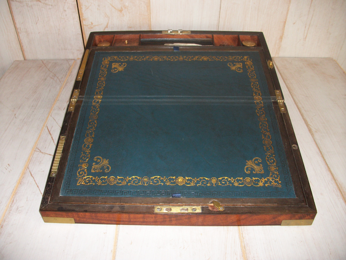 Antique Military-Campaign Writing Slope