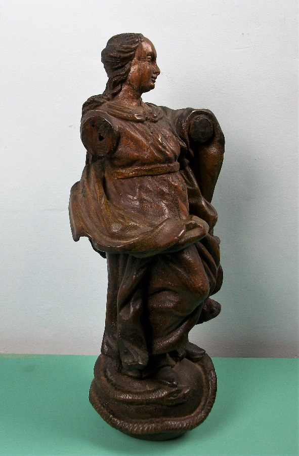 Italian Carved Oak Statue of the Virgin Mary Madonna Immaculate Conception (17).JPG
