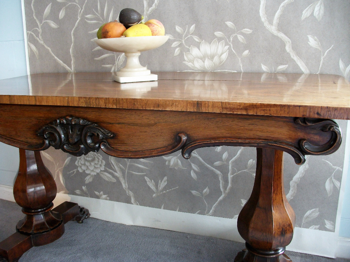 William the IV  Rosewood Sofa Table