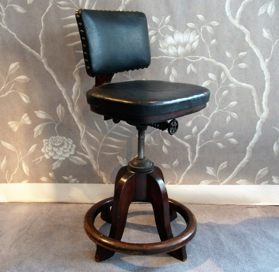 1920's Revolving Architect's Chair