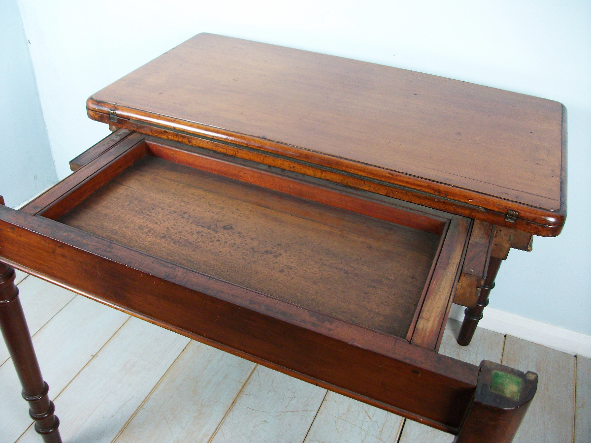 A 19th Century Mahogany Card or Games Table