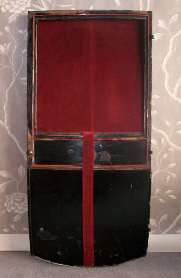 Early 19th Century Royal Carriage Door