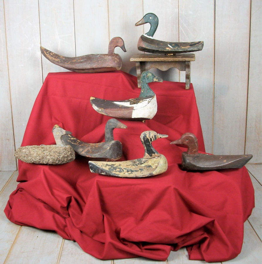 duck decoy collection (1).JPG