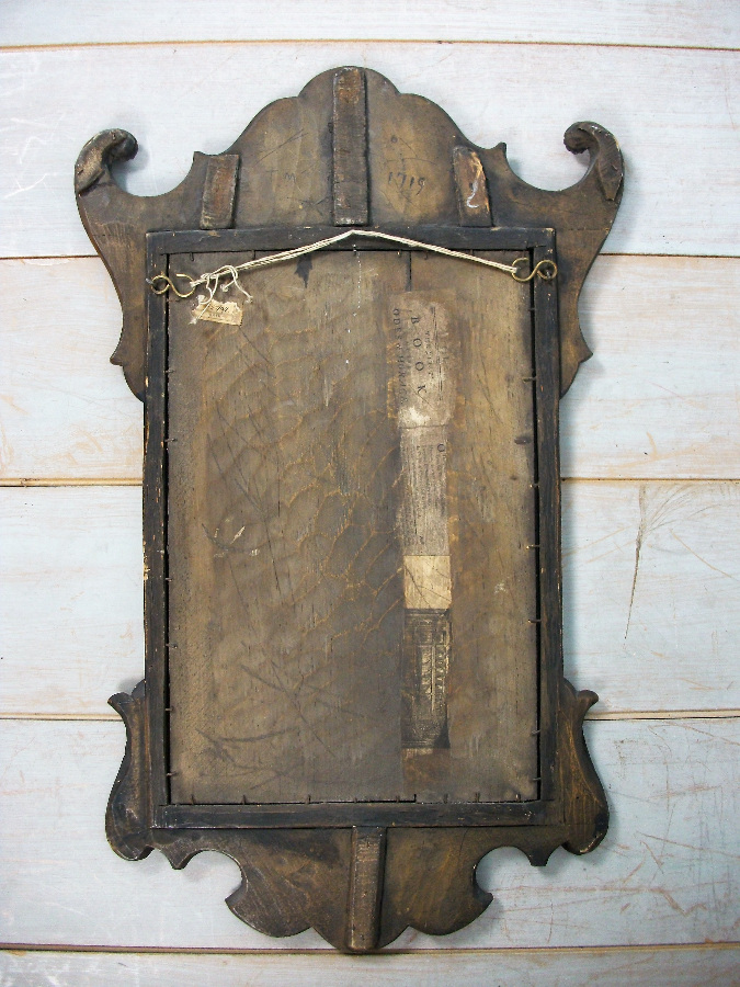 Fret mirror of Georgian design