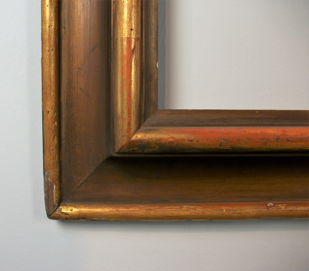 19th Century Large Italian Gilded Frame