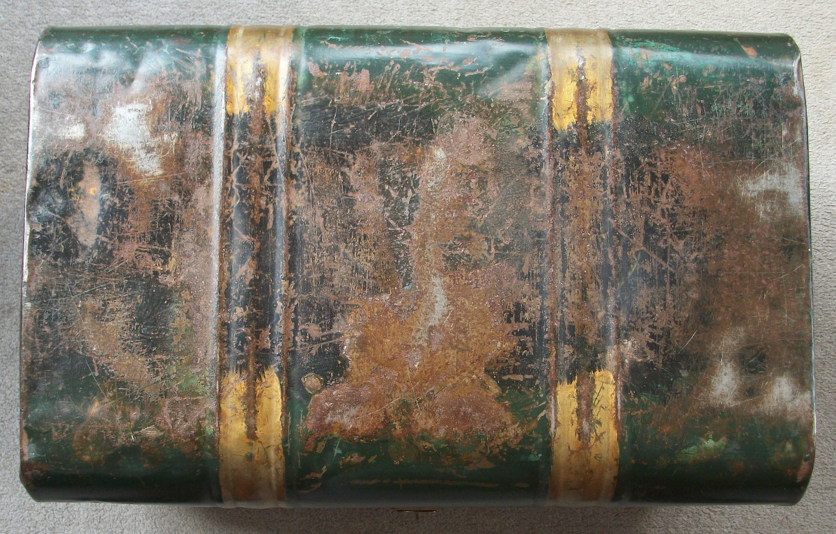 Painted Metal Box