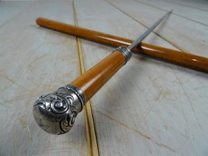 A Fine Quality 19th C Walking Stick Sword Stick (15).JPG