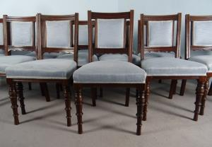 A Superb Set Of 12 Maple and Co. London Mahogany Dining Chairs (13).JPG