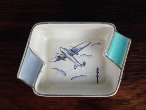 Pair of Italian Mid Century Ashtrays