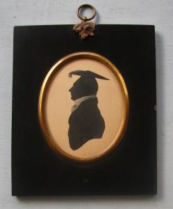 Early 19th Century Silhouette of Mr C.Grenside