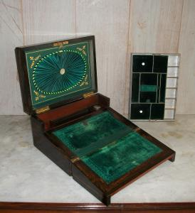 COROMANDEL JEWELLERY WRITING SLOPE  BOX