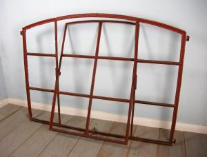 Danish Cast Iron Window frame