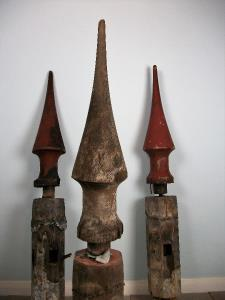 French late 18th Century Châteaux Finials