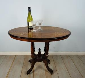 Small Oval Occasional Table