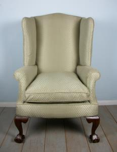 WING BACK ARMCHAIR .JPG
