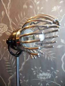 "RARE GERMAN ""TROCKENHAUBE"" HAIR DRYER LIGHT CONVERSION"