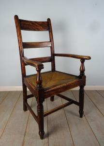 late C18th Country House Open Armchair (10).JPG