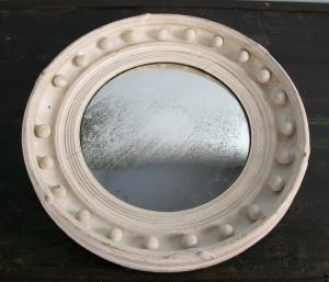 Painted Regency Convex Mirror