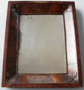 antique rosewood mirror