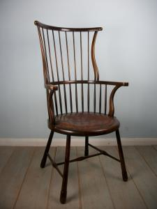 ARTS & CRAFTS WINDSOR CHAIR BY LIBERTY & CO.