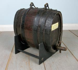 18th Century Oak Ship's Spirit Barrel from HMS Royal George