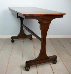 small rosewood centre table