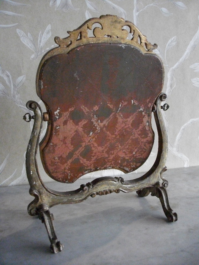 Antique Painted Swing Mirror