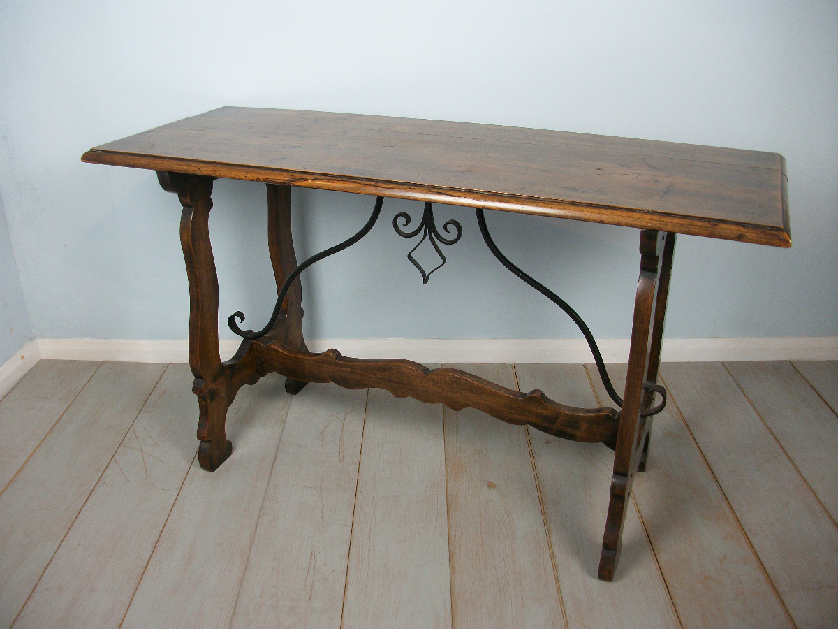 walnut refectory table